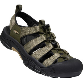 Keen Newport H2 Sandalias Hombre, forest night/black